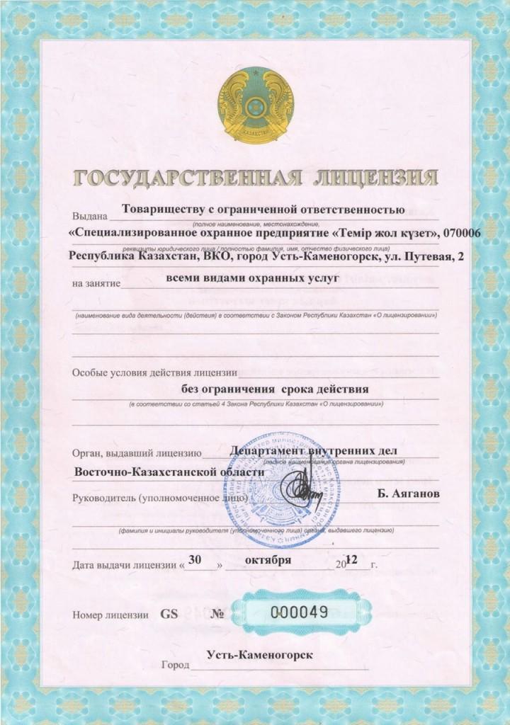 ЛицензияРУС